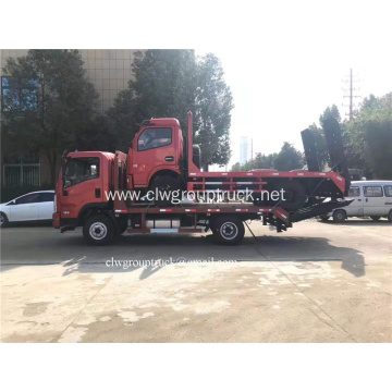 Cheap 4X2 box van fence truck for sale